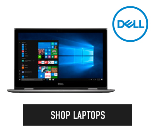 Picture of Dell computer. Click to shop Laptops.